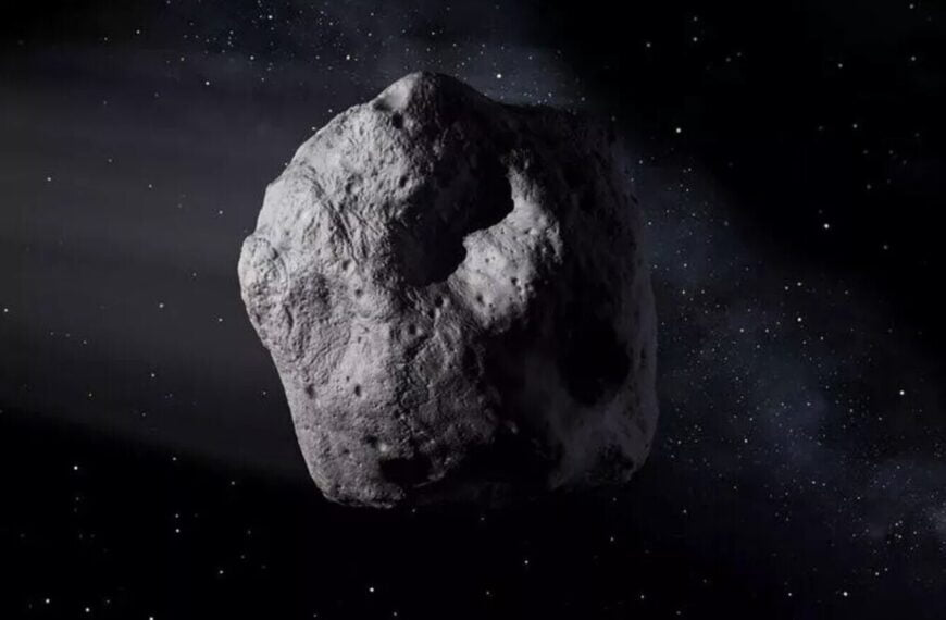 This asteroid only needs 113 days to go around the Sun: only the planet Mercury goes faster