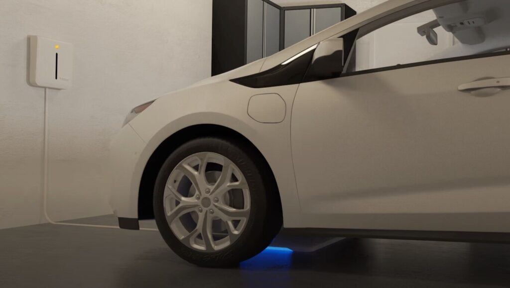 The electric car with wireless charging will be a reality in 2022 and in the United States thanks to the Genesis GV60
