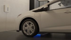 Read more about the article The electric car with wireless charging will be a reality in 2022 and in the United States thanks to the Genesis GV60