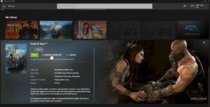 Read more about the article 'God of War' will (probably) arrive on PC: this is indicated by the leak in the NVIDIA GeForce NOW service